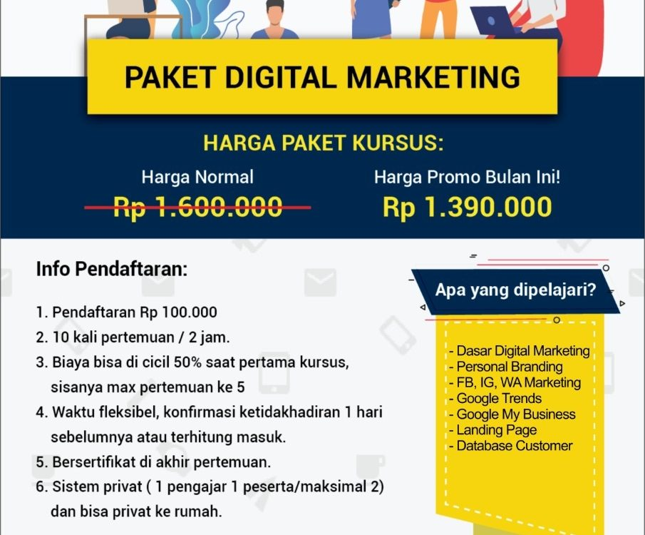 kursus digital marketing ymii cileungsi